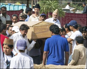 Burial at Raabwah