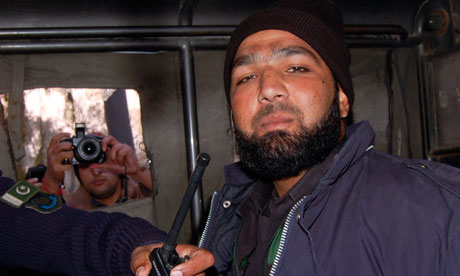 Mumtaz Qadri, sentenced to death for killing Taseer Photograph: STRINGER/PAKISTAN/REUTERS