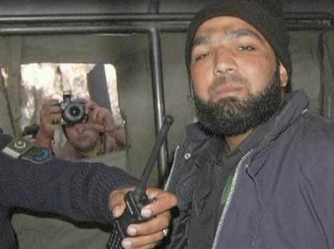 Alleged assassin of Punjab province governor, Mumtaz Qadri is taken into custody