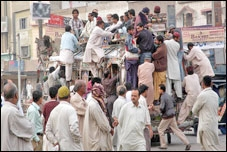 Strike in Lahore