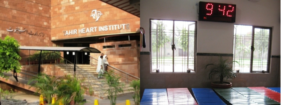 Over 80% patients at the Tahir Heart Institute are not from community. PHOTO: SABA IMTIAZ/EXPRESS