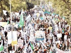 Don't dare touch blasphemy law - TNRM Rally in Lahore
