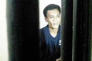 Ahmad Nuryamin, 35, was arrested and accused of a stabbing he says he was forced to confess to during torture. (JG Photo/ Nivell Rayda)
