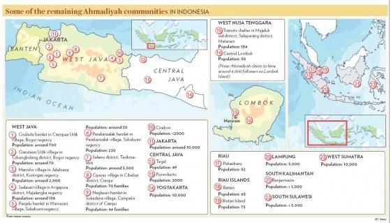 Ahmadiyya Communities in Indonesia