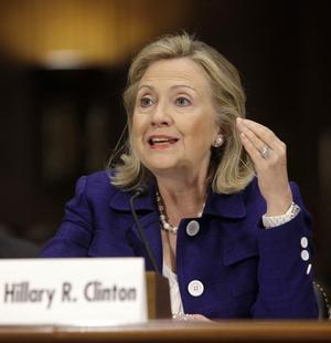 US Secretary of State Hillary Clinton © 2011 Reuters