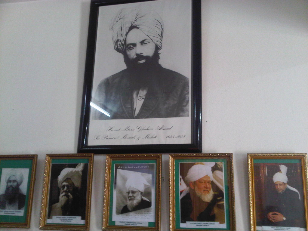 Founder of Ahmadiyya and his successors